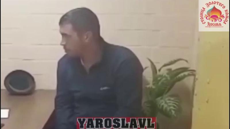Допрос подозреваемого в поджоге дома в Ростове