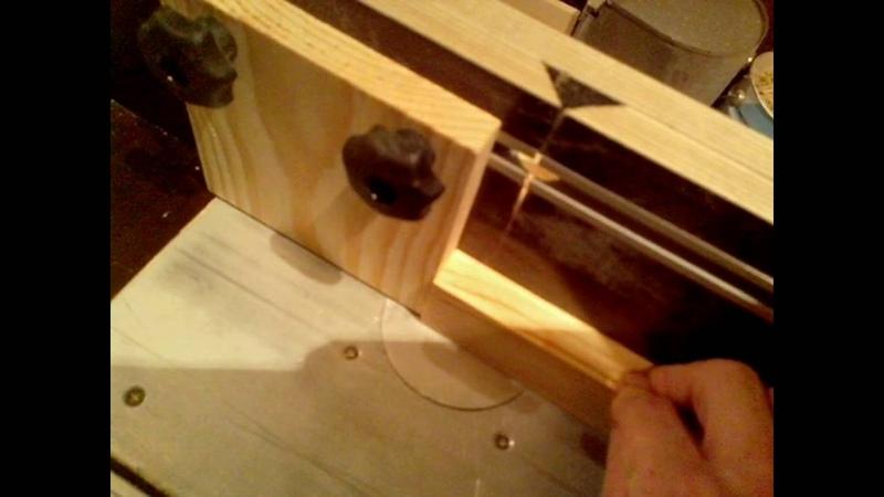 Отверстия под шкант на фрезерном столе! две базы получаются четко
