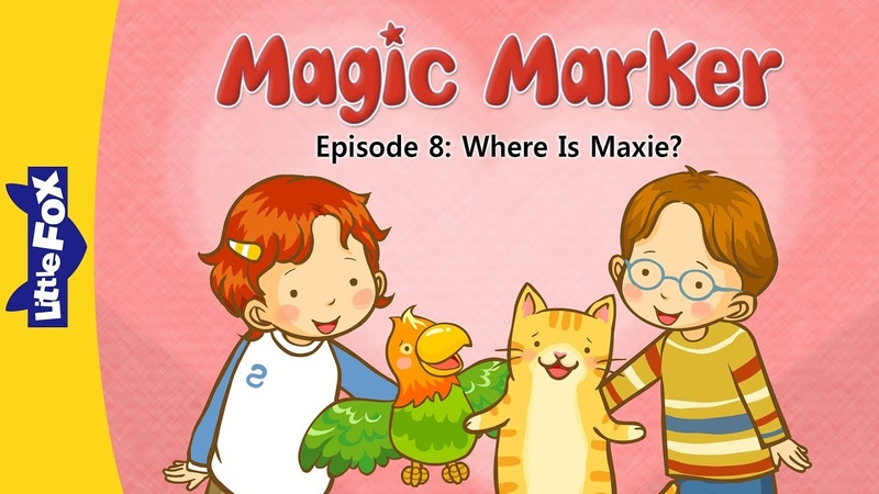 Magic Marker 8 | Where Is Maxie? | Fantasy | Little Fox | Animated Stories for Kids