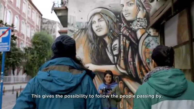 Introducing the EOS 750D with Street Artist Alice Pasquini Canon