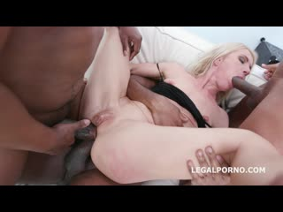 Black ravage, sindy rose insane toys and fisting, anal and dap fucking with buttroses and swallow