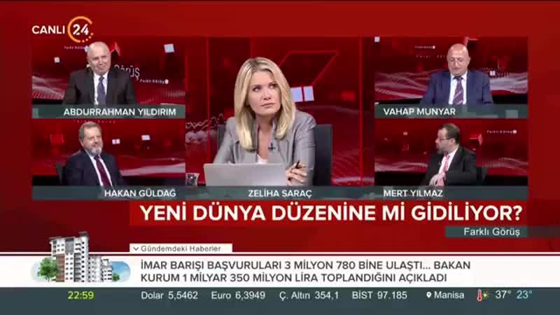 Mert Yılmaz ABD, Türkiye - Rusya yakınlaşmasından rahatsız. Fitili S-400ler ateşledi.mp4