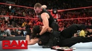 Dean Ambrose unleashes a stunning assault on Seth Rollins Raw Oct 22 2018