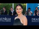 Сальма Хайек на 38 м кинофестивале Deauville American Film Festival во Франции 08 09 2012