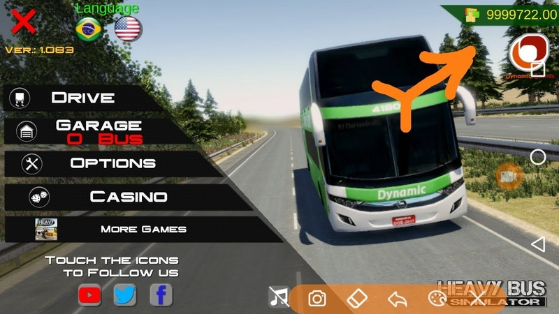 How to get unlimited money on the Heavy Bus Simulator without a hacker