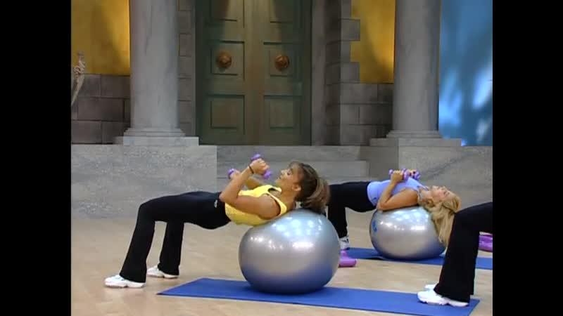 2 Кейт Фридрих Тренировка с фитболом для всего тела Cathe Friedrich Total Bo