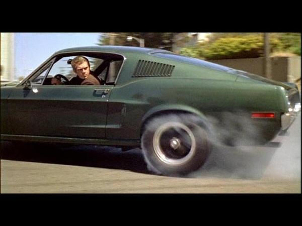 HD Greatest Hollywood Car Chase of All Time Bullitt 1968