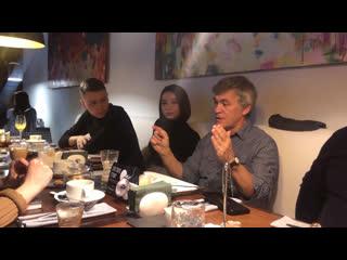Пресс-завтрак с Владимиром Сурдиным