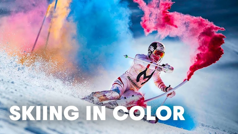 Skiing in Colour w Marcel Hirscher