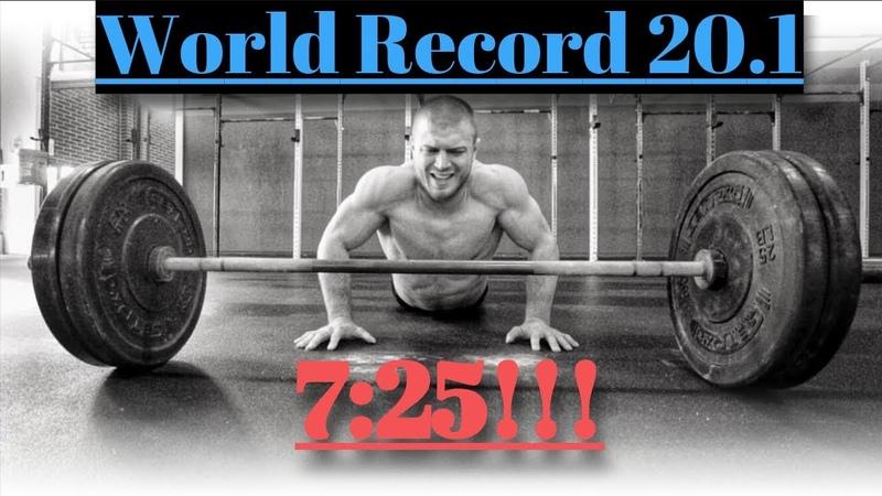 7:25 Watch me Crush 20.1 Open Workout