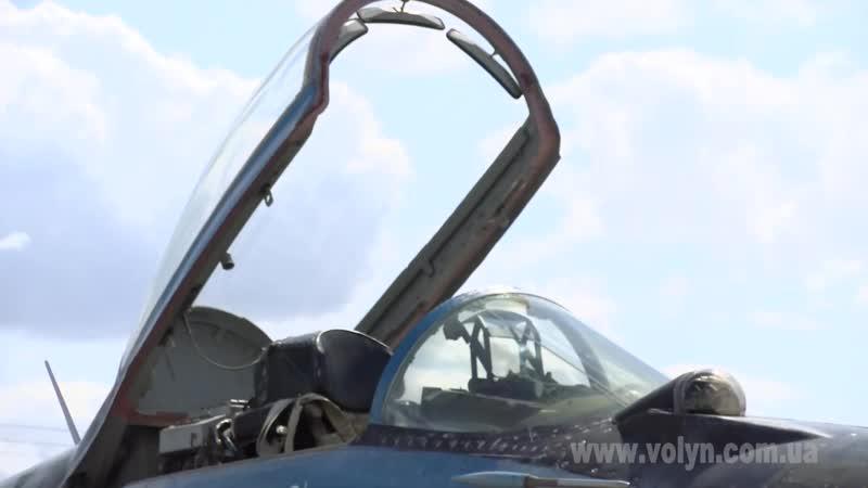 Захід Майбутнє у вишиванках на Луцькому військовому аеродромі 19-го липня 2019 року