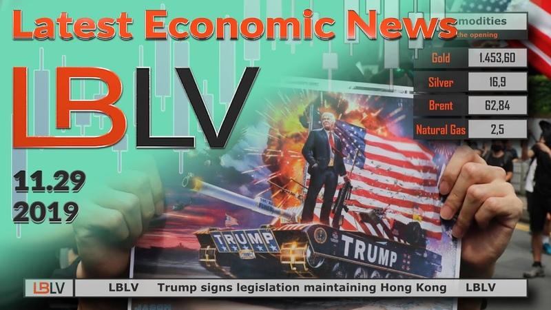 LBLV Trump signs legislation maintaining Hong Kong 2019 28 11