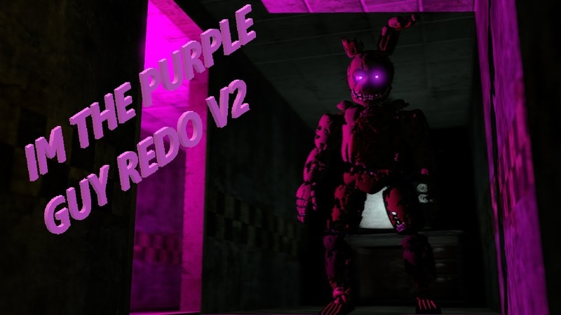 [SFM/FNAF] IM THE PURPLE GUY REMAKE V2 REMIX BY GRZYBEK 125