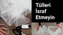 TÜL PERDE PARÇALARINI DEĞERLENDİRME vídeointeressante