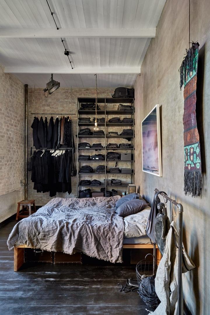 Квартира фотографа Кирилла Овчинникова, 82 м²