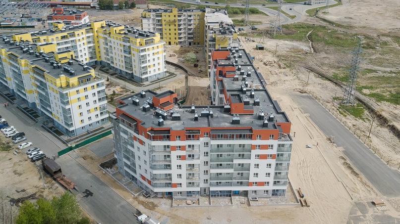 Отчет о ходе строительства ЖК «Апрель» май 2020, изображение №31