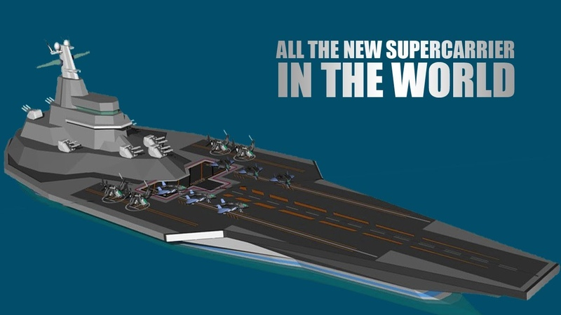 All the New SUPERCARRIER In The World