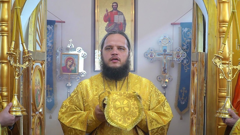Чин великого освящения храма в честь святителя Николая Чудотворца