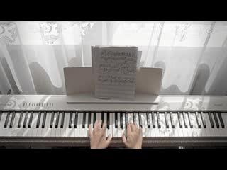 """Утро, я,  мой прекрасный roland и """"У моего окна"""" - C.Рахманинов-И.Оловников"""