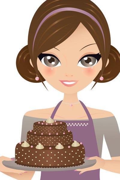 Мама с тортом картинка быть