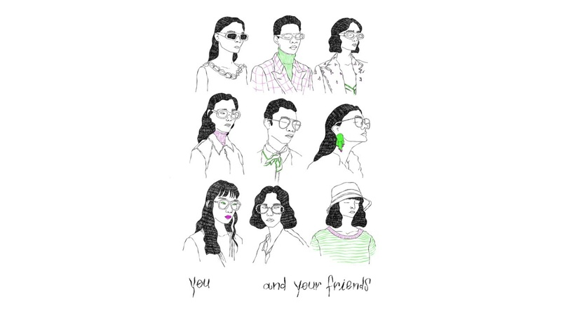 Peach Pit You and Your Friends Official Audio