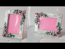 Photo frame DIY Ideas How TO Make Easy Photo frame At Home/ Easy Paper Craft/