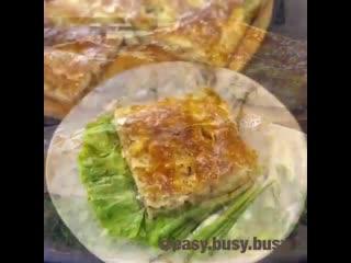 МИНТАЙ - ДЕШЕВАЯ ЕДА. В пироге из слоёного теста выглядит супер и на вкус