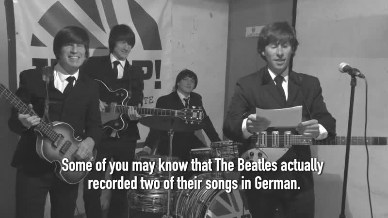 Komm Gib Mir Deine Hand Performed by HELP A Beatles Tribute 2020 05 28