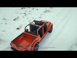 «каждый день не похож на предыдущий с jeep gladiator» реклама jeep с биллом мюрреем по мотивам «дня суркa»