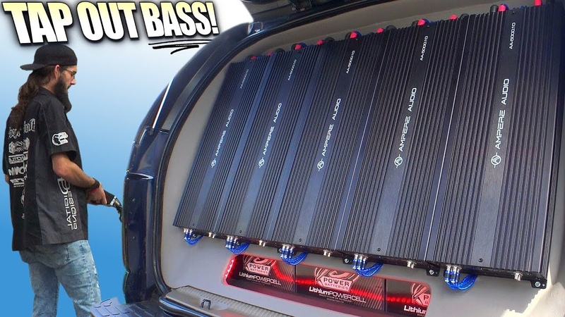 TAP OUT Subwoofer Demos LOUD Car Audio BASS Systems @ The XS POWER Show SPL Competition