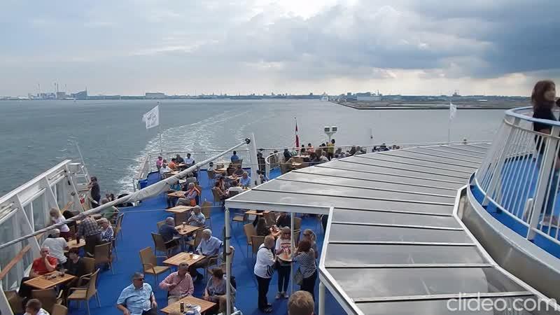 Паром Pearl Seaways Копенгаген Осло