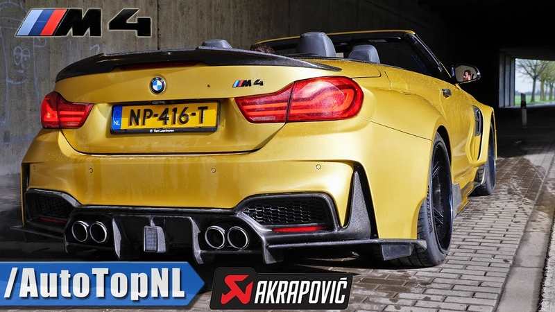 BMW M4 WIDEBODY AKRAPOVIC STRAIGHT PIPE *CRAZY LOUD* Exhaust SOUND by AutoTopNL