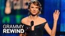Taylor Swift Wins Album Of The Year For 'Fearless' At The 2010 GRAMMY Awards GRAMMY Rewind