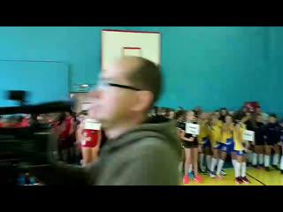 Межрегиональный турнирпо волейболу в Мичуринске.Парад открытия