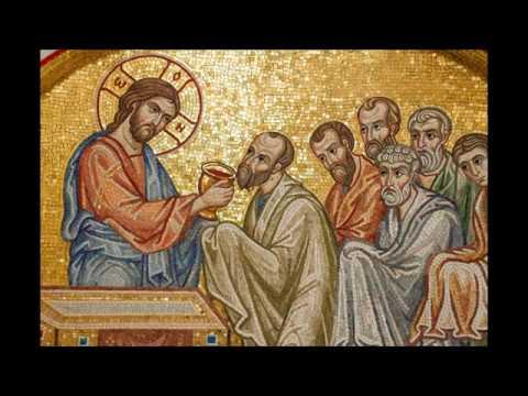 Благодарственные молитвы по Святом Причащении. Литургия св. Иоанна Златоуста