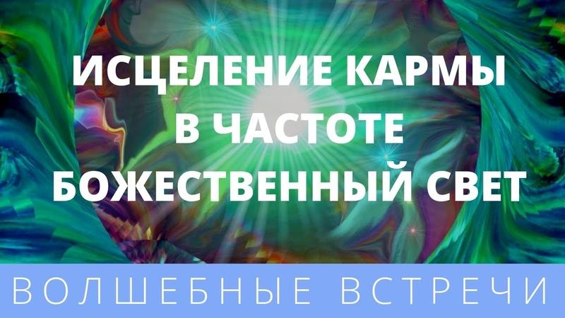 Юрий Харикава Исцеление кармы в частоте Божественный свет