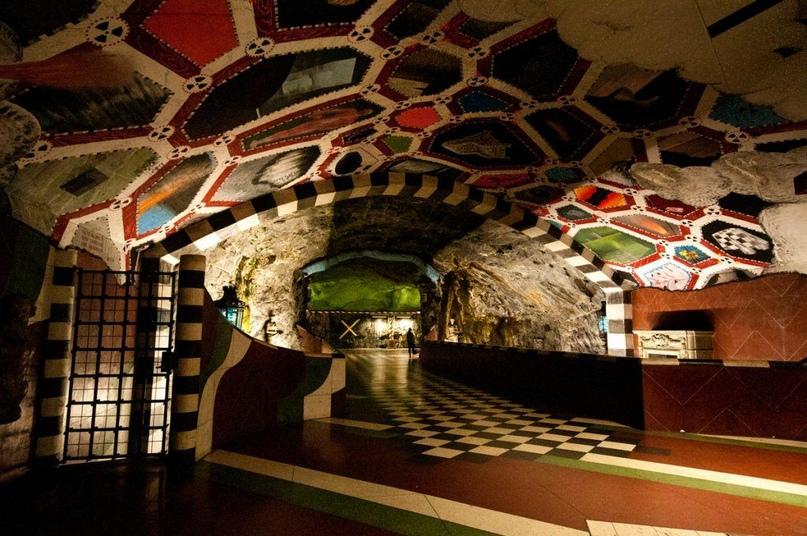ТОП самых красивых метро, изображение №2