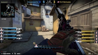 CS:GO POV Demo Mousesports frozen (21/5) vs Evil Geniuses (de_inferno)