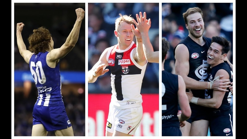 Brown Hind McKay Coates Hire GOTY Nominations Round 22 2019 AFL