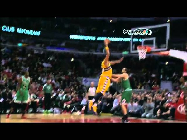 JaVale McGee's insane throw in dunk