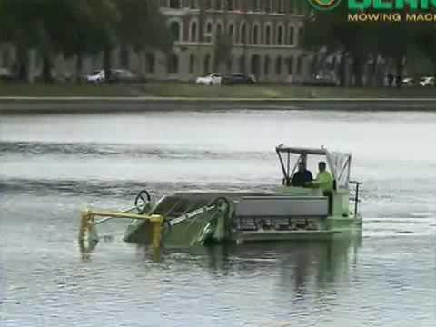 Уборочная машина для очистки водоемов от водорослей BERKY 6510 6520