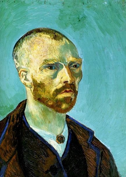 «Автопортрет с обритой головой. Посвящается Полю Гогену», Винсент Ван Гог