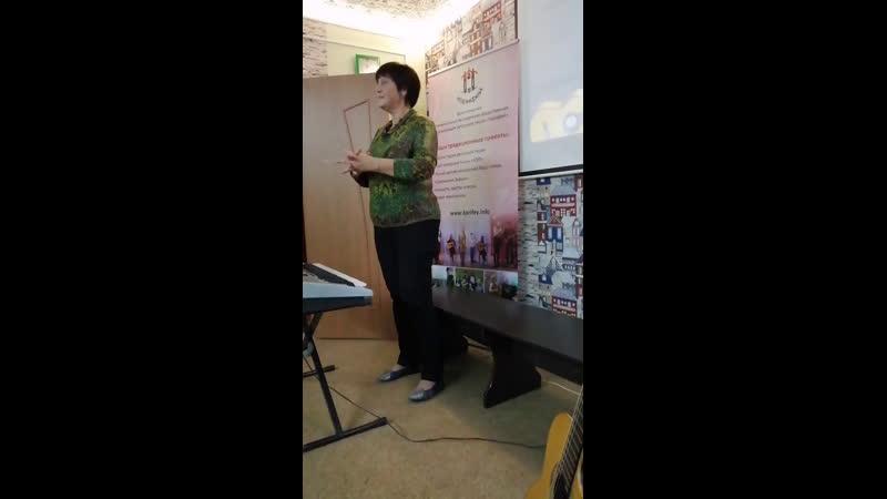 Мастер класс по вокалу от Аллы Герасимовой