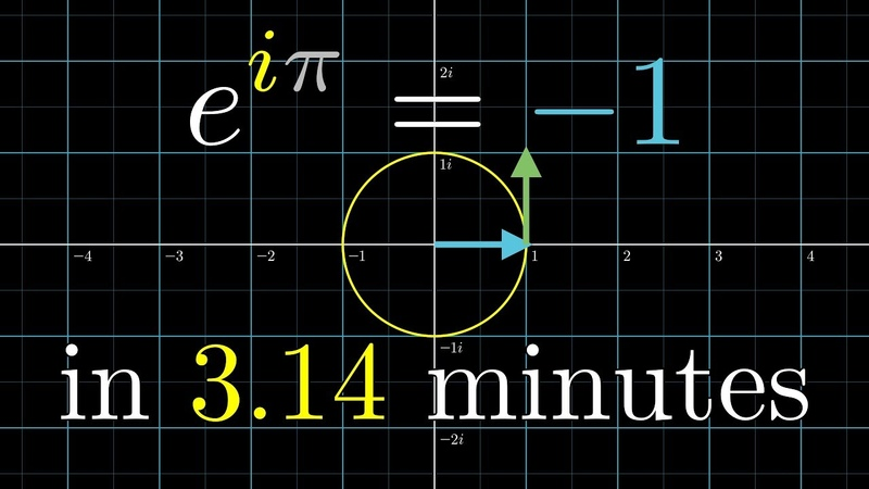 Understanding e to the i pi in 3 14 minutes DE5