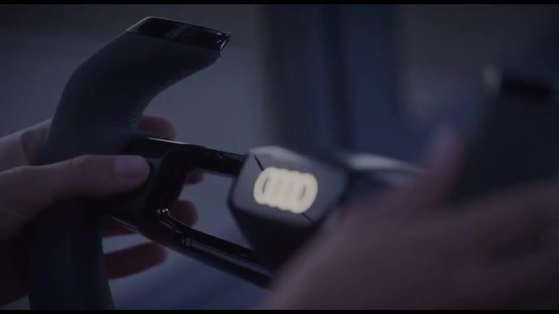 Audi показала концепт автомобиля без фар. Вместо них — дроны с фонарями