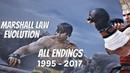 TEKKEN SERIES All Marshall Law Endings 1995 2017 1080p 60fps PS4 Pro