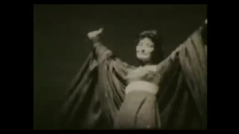 Maria Callas' acting as Medea 1961