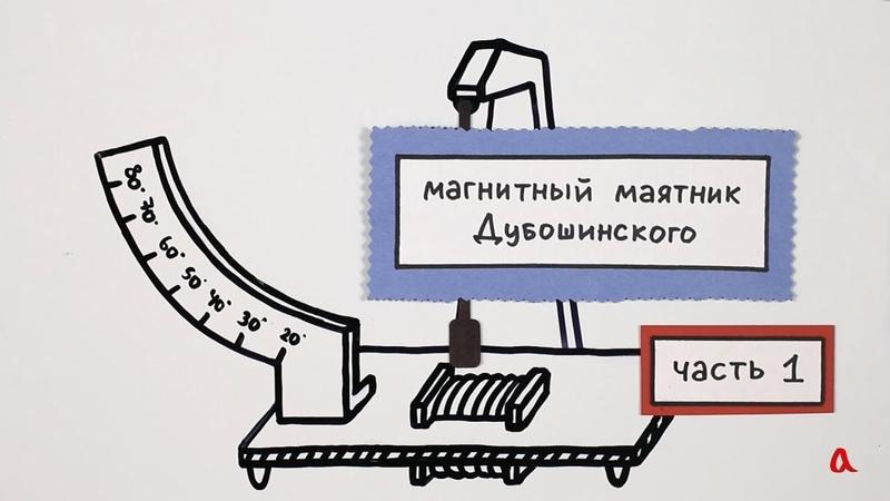Магнитный маятник Дубошинского Часть 1