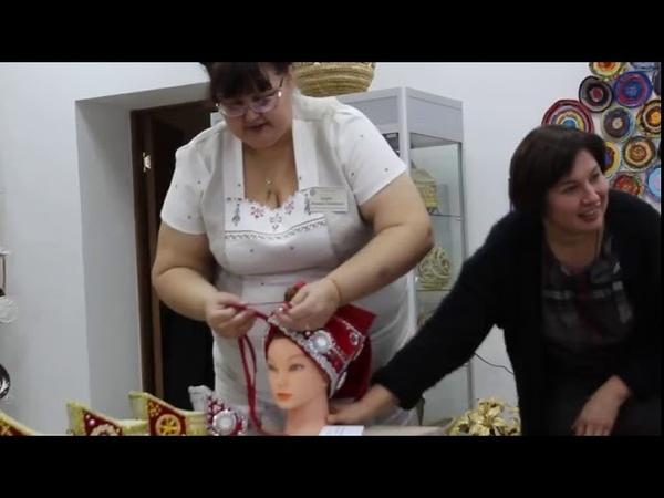 Сорока-древний русский женский головной убор. Как она надевалась