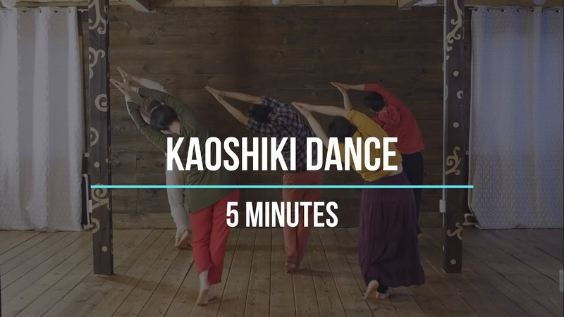 Kaoshiki dance from the back Slow pace Dance together for 5 minutes
